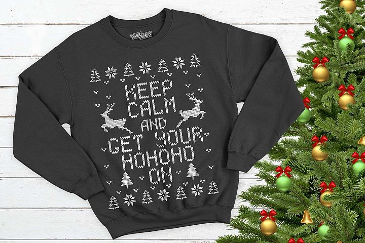 Get your hohoho on Christmas Printable