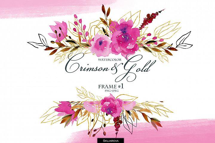 Crimson and Gold. Frame #1