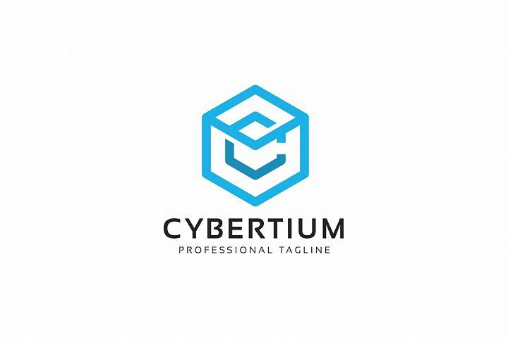 Cybertium-C Letter Logo