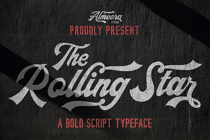 The Rollingstar - Stylish Bold Script