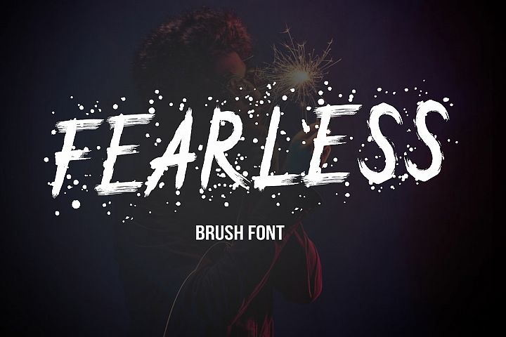FEARLESS - Brush Font