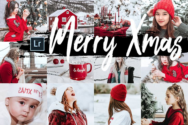 05 Merry Xmas Desktop Lightroom Presets and ACR preset