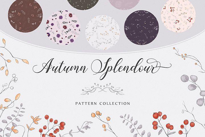 Autumn Splendour Patterns
