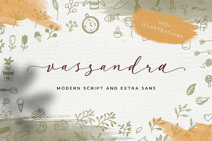 Vassandra Modern Script