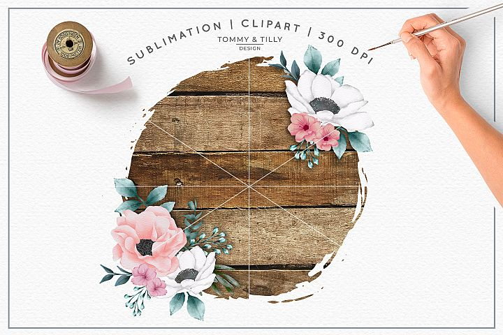 Blank Wooden Background - Sublimation PNG Clipart