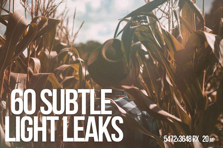 60 SUBTLE LIGHT LEAKS