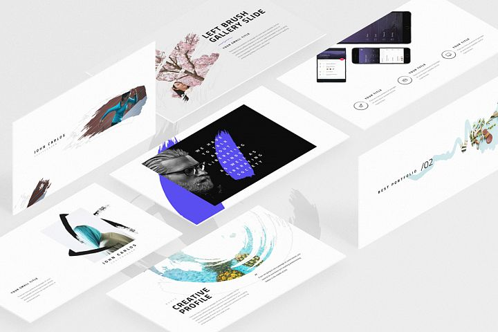 BURTE-Powerpoint Template