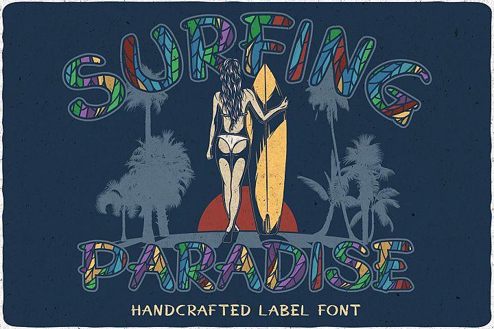 Surfing Paradise font plus bonus