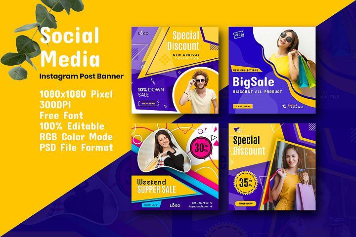 Social Media Promotional Post Banner