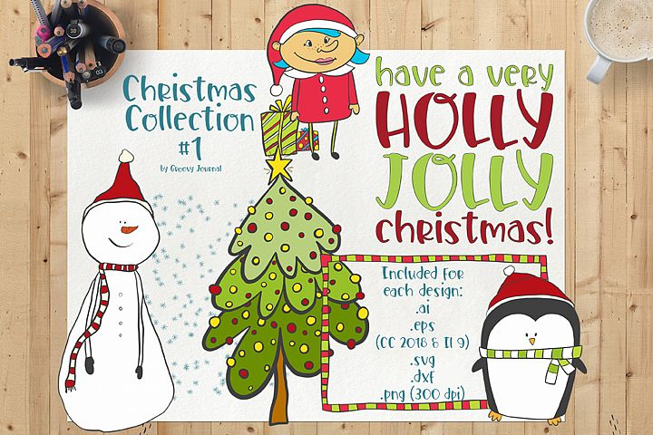 Christmas Collection 1 - Vector/SVG