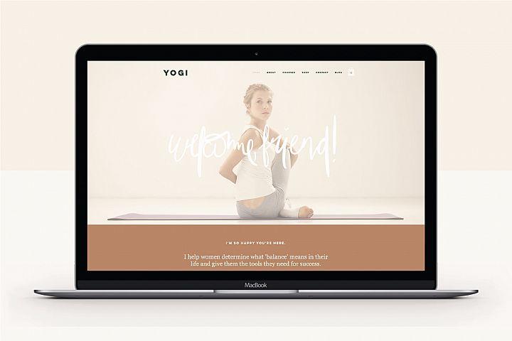 Wix Website Template | Yogi