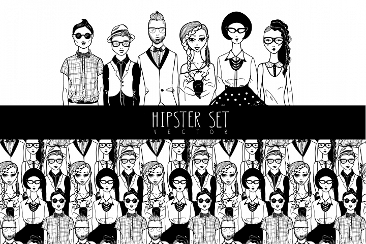 Hipsters set.