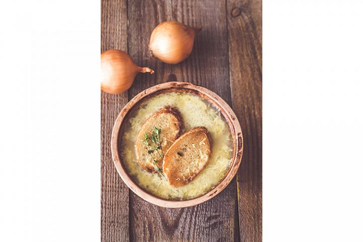 Bowl of onion soup