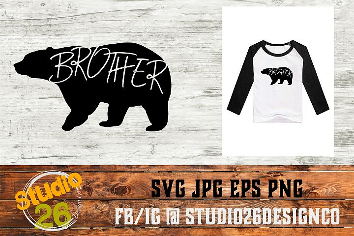 Brother Bear - SVG EPS PNG