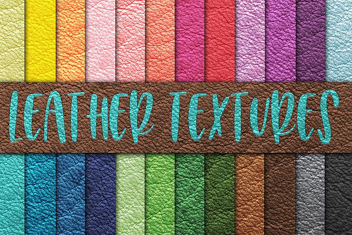 Leather Textures Digital Paper