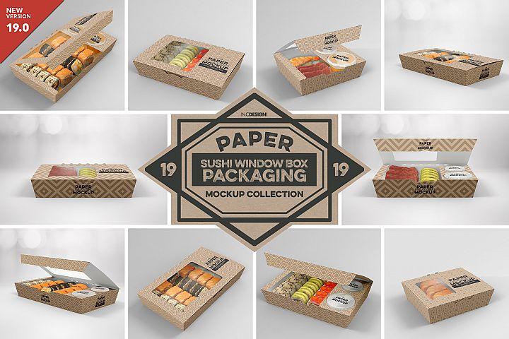 VOL. 19 Paper Box Packaging Mockups