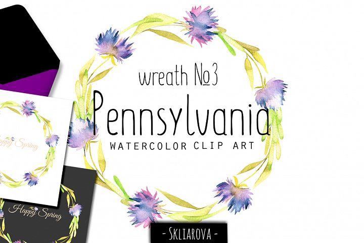 Pennsylvania. Wreath #3