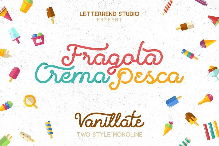 Vanillate Font Duo