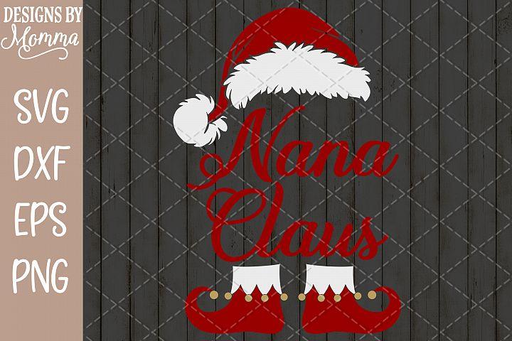 Nana Claus SVG