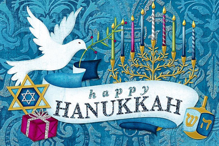 Happy Hanukkah Digital Scrapbooking Collection