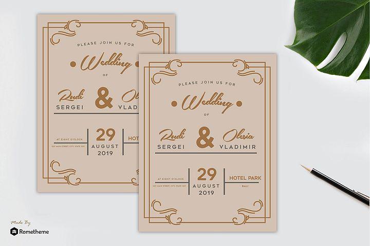 Wedding Invitation vol. 02