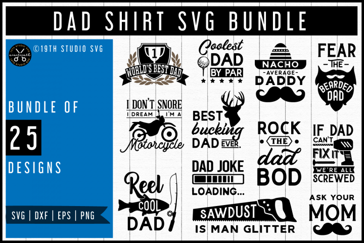 Dad shirt SVG Bundle| MB50