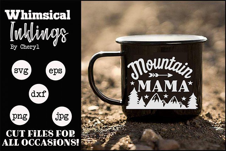 Mountain Mama-SVG