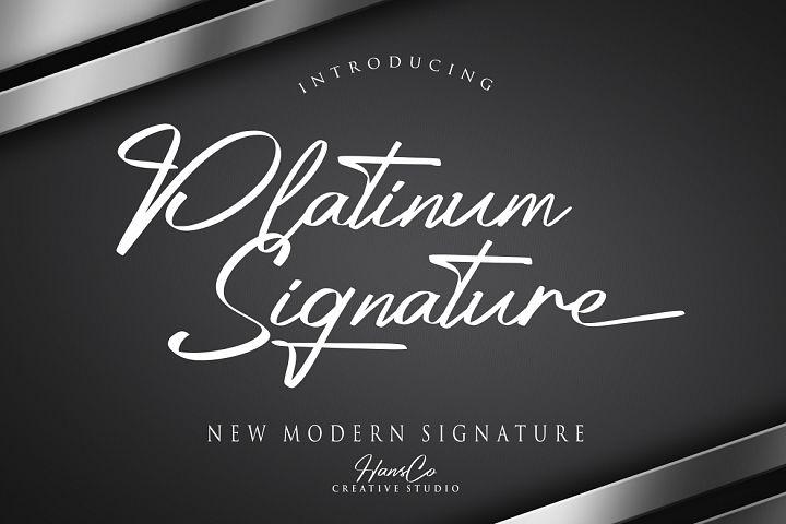 Platinum Signature
