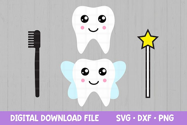 Teeth SVG files for Cricut / Dentist SVG / Tooth Clipart