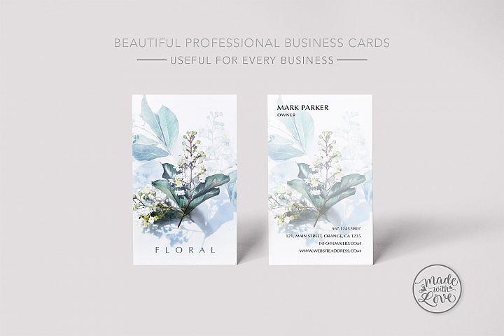 Minimal Floral simple beautiful card