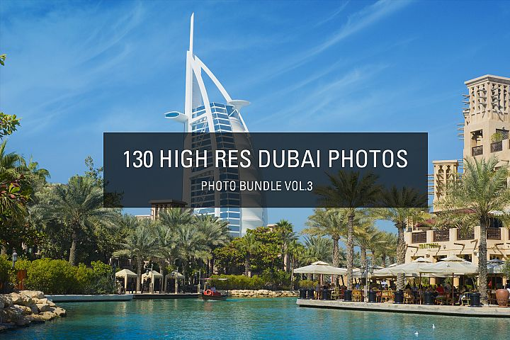 130 Big Bundle - Professional Dubai City Photos