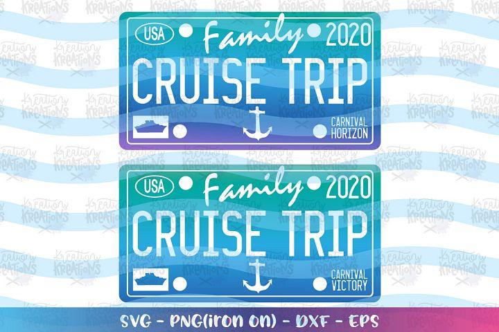Cruise ships -Carnival Horizon SVG