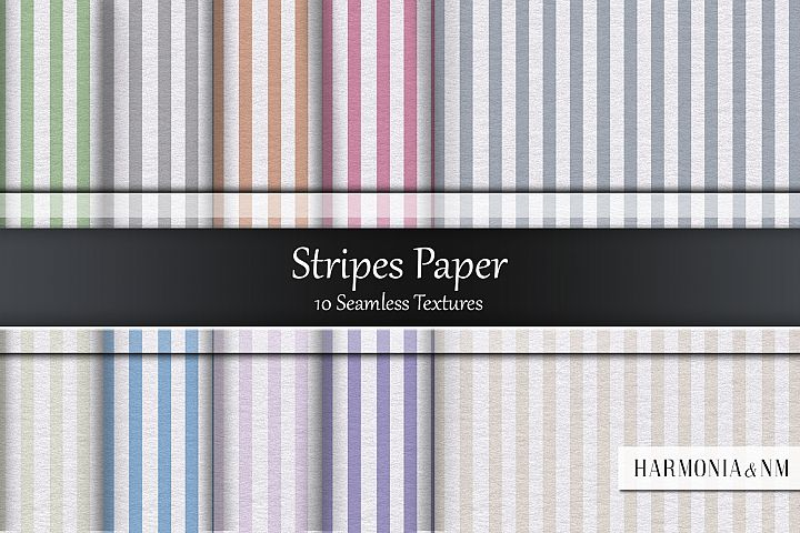 Stripes Paper 10 Seamless Textures