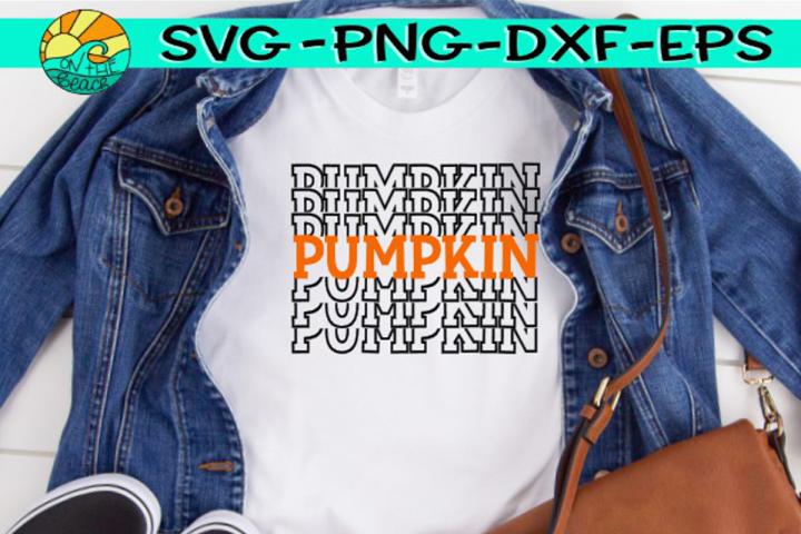 Pumpkin - SVG PNG EPX DXF