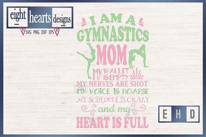 Gymnastics Mom SVG EPS DXF Cutting File