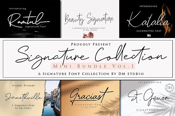 Signature Collection Mini Bundle Vol.1