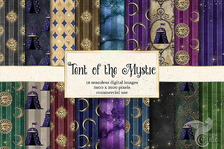Tent of the Mystic Digital Paper