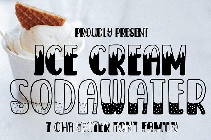 Ice Cream Sodawater
