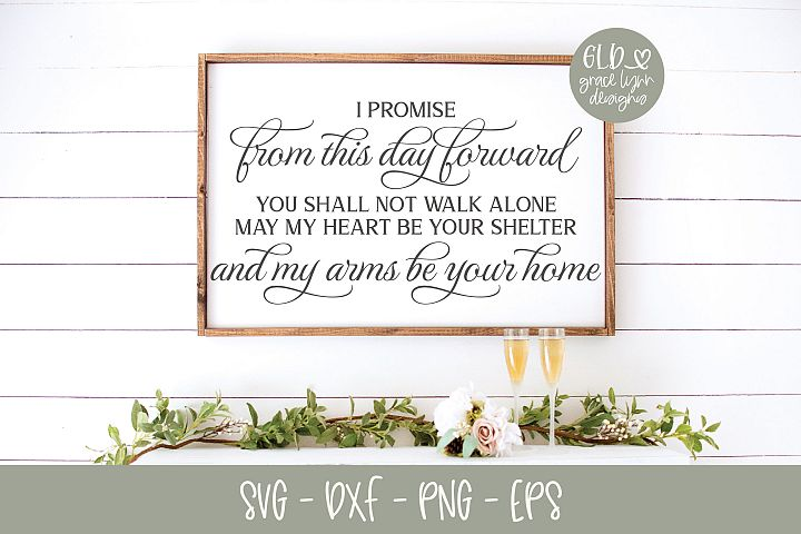 From This Day Froward - Wedding SVG