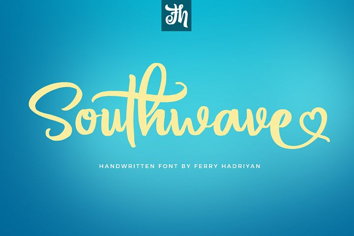 Southwave - Handwritten Font