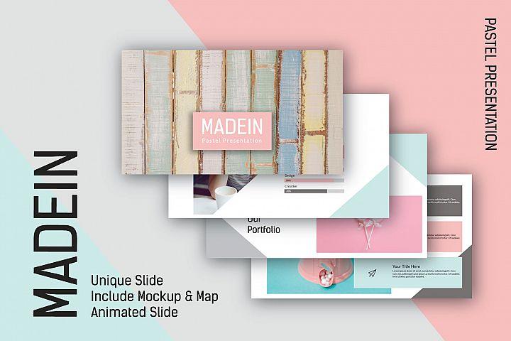 Madein Powerpoint Template
