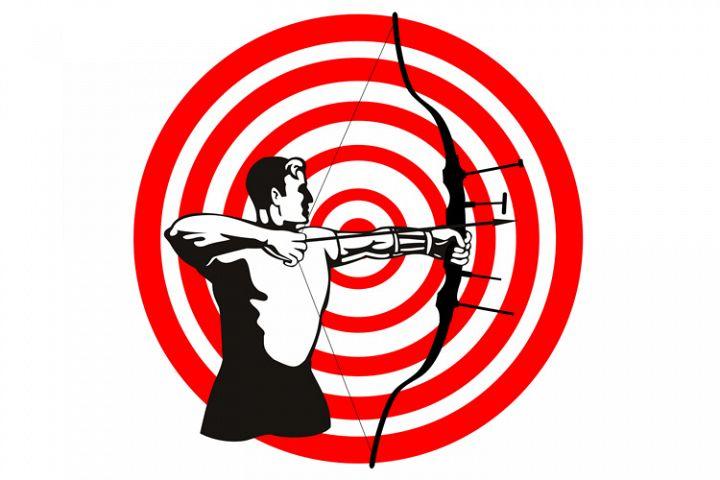 Archer Bow Arrow Target