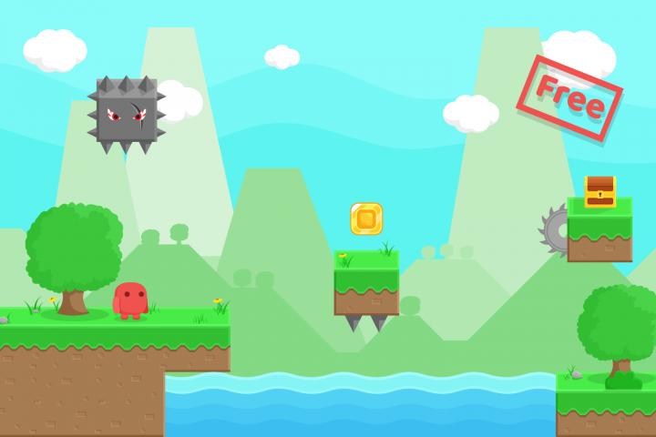 Free Platform Game Assets + GUI example 3