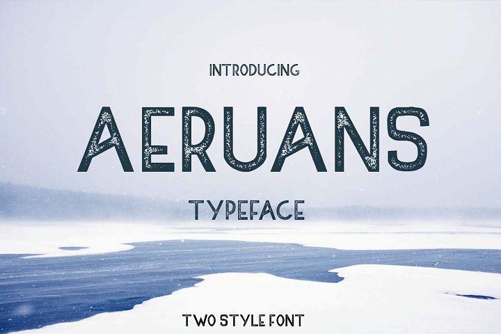 AERUANS TYPEFACE