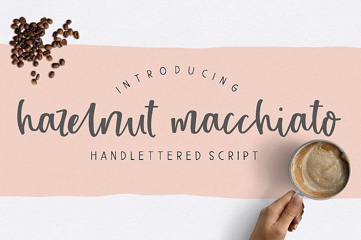 Hazelnut Macchiato Handlettered Script Font