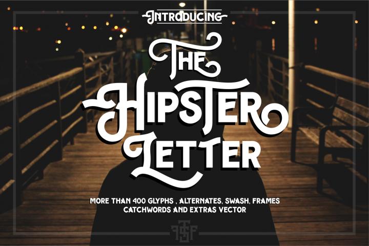 Hipster Letter