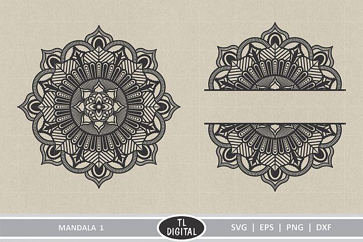 Mandala 1 - Boho Graphic - SVG | EPS | PNG | DXF