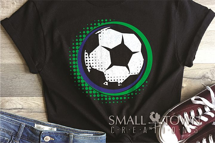 Soccer, Ball, Sport, Team, Logo, PRINT, CUT & DESIGN