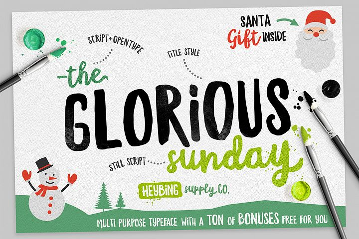 Glorious Sunday & Extras