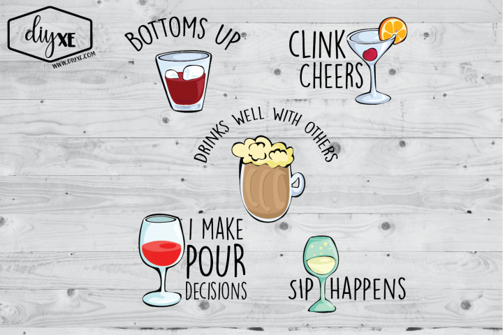Funny Drinking Bundle - A Collection of Sublimation Graphics
